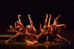 """RBR dance company in """"The Man"""" (the Passion of the Christ) - cooproduction with Camerata Musicale Barese - Choreography by Cristina Ledri, Cristiano Fagioli - Music by J. Debney, S. Jablonsky, C. Armstrong, D. Todesco, H. Takkenberg, P. Gabriel - Voice Paolo Valerio."""